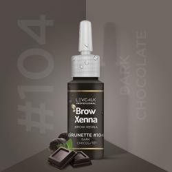 BrowXenna 104 Bitter Chocolate